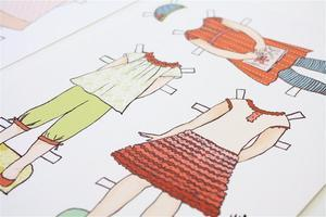 Lily & Thistle Paper Doll Day Camp RENO/SPARKS NEVADA
