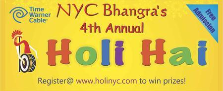 Holi Hai NYC 2013 ( FREE ADMISSION festival of Colors...