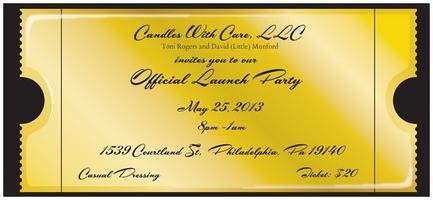 Candles With Care, LLC Official Launch  Party