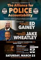 1st Annual Fundraiser for the Alliance for Police...