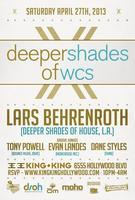 4/27 Deeper Shades of WCS w / LARS BEHRENROTH, Groove...