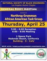 NSBE-AE Los Angeles April General Body Meeting