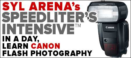 Speedliter's Intensive (May 23) + Hands-On Shooting...