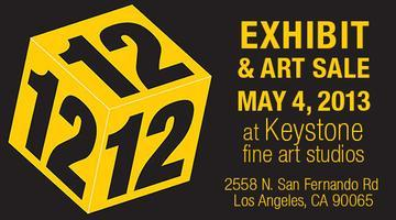 12 x 12 x 12 Exhibition and Art Sale