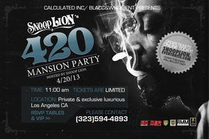 ANNUAL SNOOP LION 420 FESTIVAL