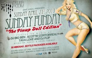 "Sunday Funday Brunch ""The Pinup Doll Edition"" at The..."