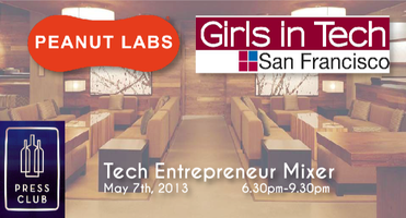 Peanut Labs & Girls In Tech Entrepreneur Mixer