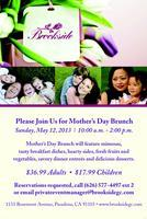 Brookside Mother's Day Brunch and Spa Day!