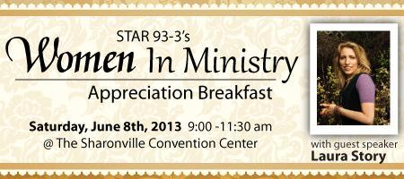 2013 STAR 93.3 Women In Ministry Breakfast