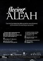 Fleeing to Allah