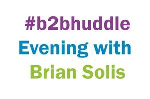 #b2bhuddle evening with Brian Solis - July 12