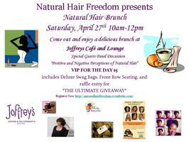 Natural Hair Freedom Brunch