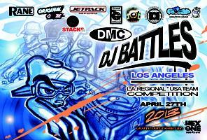 April 27: 2013 DMC LOS ANGELES + DMC USA DJ TEAM...