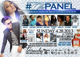#ThePanel 4/28 - Fashion Edition at Threadz