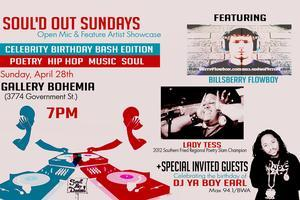 Soul'd Out Sundays: Celebrity Birthday x Double...