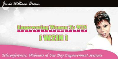 "Empowering Women TO WIN ""W2IN"""