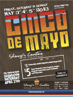 Pre-Cinco and Cinco de Mayo Weekend!!!