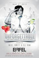 "THE "" UNFORGETTABLE"" ALL WHITE AFFAIR"