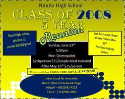 Nimitz Class of 2008 5 Year Reunion