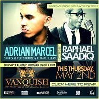 Jacob York Presents 9pm Performance by Adrian Marcel &...