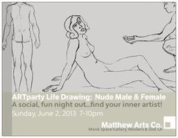 ARTparty: Life Drawing - The Nude Male & Female