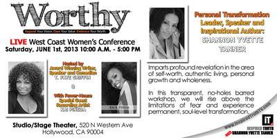 """Worthy"" West Coast Women's Conference - Expand Your..."