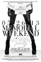 """MEMORIAL DAY WEEKEND """"I LOVE THE 90'S"""" ALL WHITE PARTY..."""