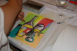 Sip & Sketch at Acquiesce Winery!