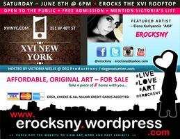 EROCKSNY Art Show & After Party