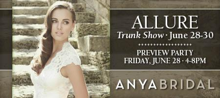 Pre-View Cocktail Party for Allure Trunk Show at Anya...