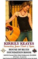 Kirrily Keayes @ The House Of Blues Foundation Room