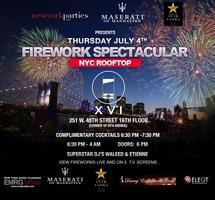 4th of July Firework Spectacular at XVI Rooftop