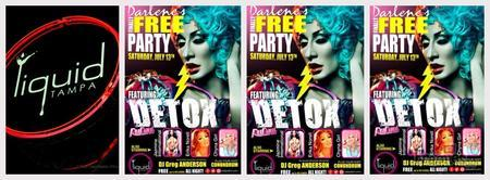 DARLENE'S FINALLY FREE PARTY FT. DETOX & SPECIAL...