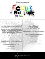 Focus On Photography - For Kids