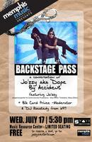 Backstage Pass with Jo'zzy(writer for: Timbaland,...