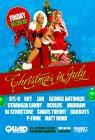 Christmas in July @ QUAD