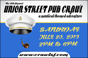 The 11th Annual Union Street Pub Crawl