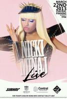 SUBMIT TO OPEN FOR NICKI MINAJ IN NEW ORLEANS.