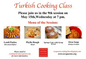 TURKISH COOKING CLASSES SPRING SESSIONS