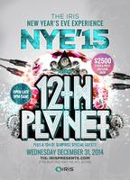 NYE IRIS 12th PLANET (LIVE) @ FAMOUS ANNUAL IRIS NEW...
