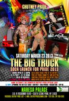 THE BIG TRUCK SOCA LAUNCH FOR PRIDE 2013