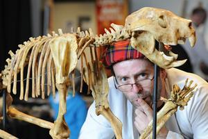 Torchlight Tour: Prof Flint and the Great Rainbow Hunt, Wednesday 21 at 8:00pm