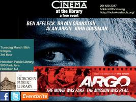 Monthly Film Screening - Argo