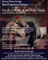 "Weekend Conference: ""Faust, a Myth of Modern Times"""