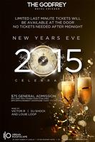 New Years Eve 2015 at I|O Urban Roofscape at the Godfrey Hotel...