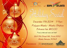 BDPA and ToC - Holiday Tech Social