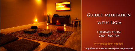 "Guided Meditation with Ligia M. Houben On - ""PEACE"""