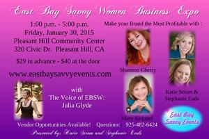 East Bay Savvy Women's Business Expo January 30