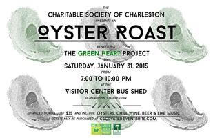2015 CSC Oyster Roast Benefiting The Green Heart...