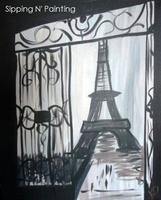 Sip N' Paint Paris Wednesday May 1st, 6pm